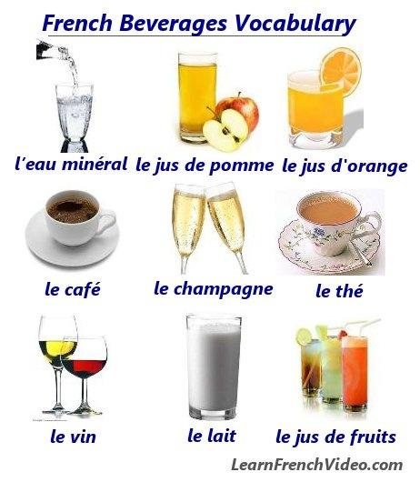 4Vocabulaire les boissons