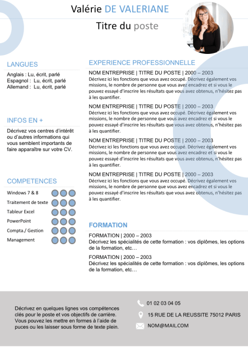 381 faire son cv prez  u2013 french again  juliette bourdier