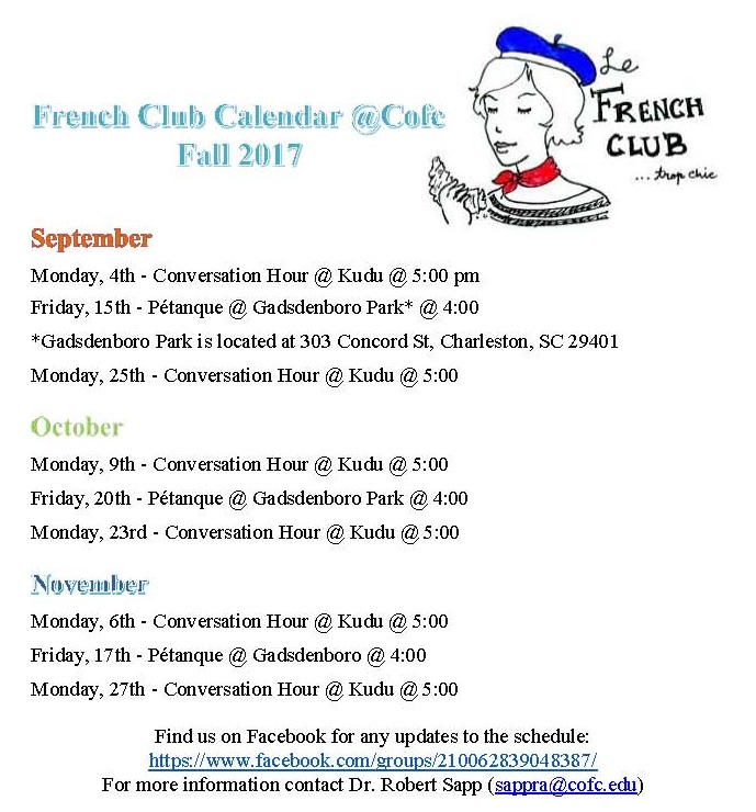 French Club Events