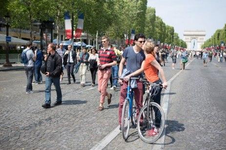 Piétonisation des Champs-Elysées et berges de Seine
