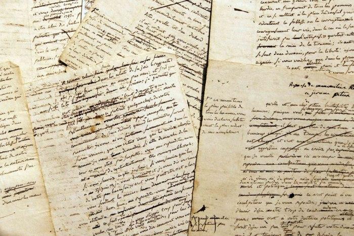 Robespierre-drafts