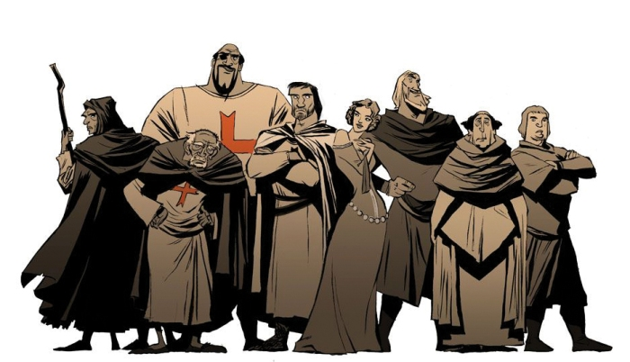 Templiers-line-up