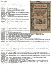 Les tables de matières de rabelais[1]