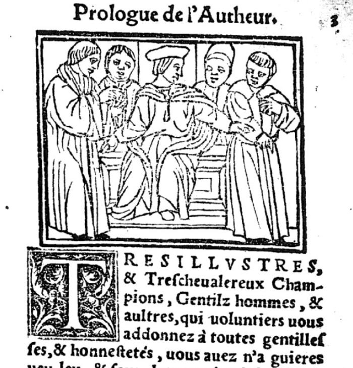 prologue de l'auteur 1542