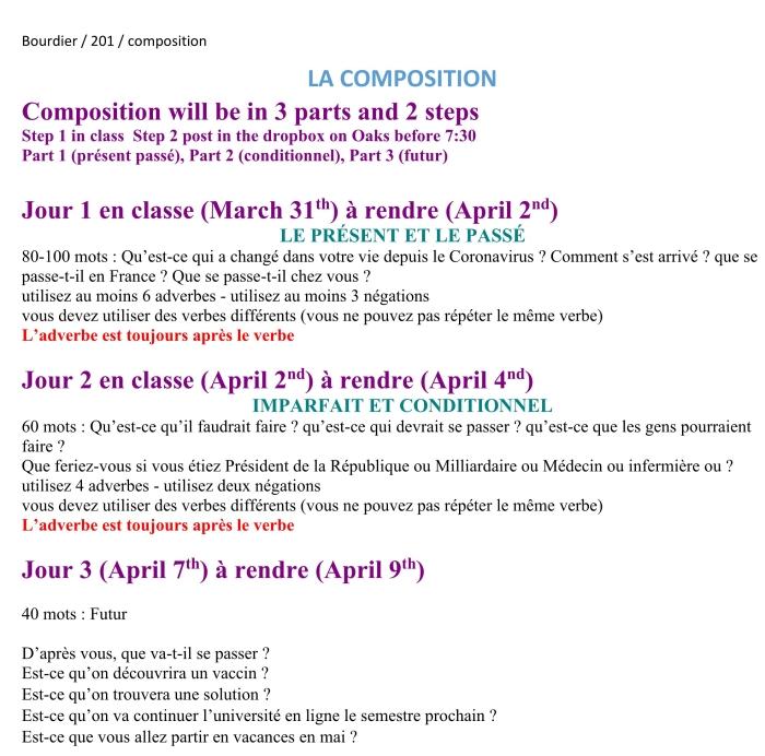 Unité 12 composition Summary SP 2020 CORONAVIRUS_1